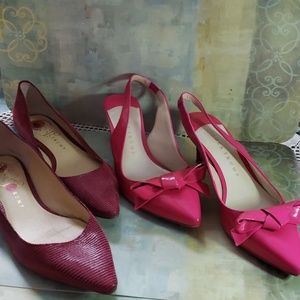 Duo pre-owned Ivanka Trump shoes